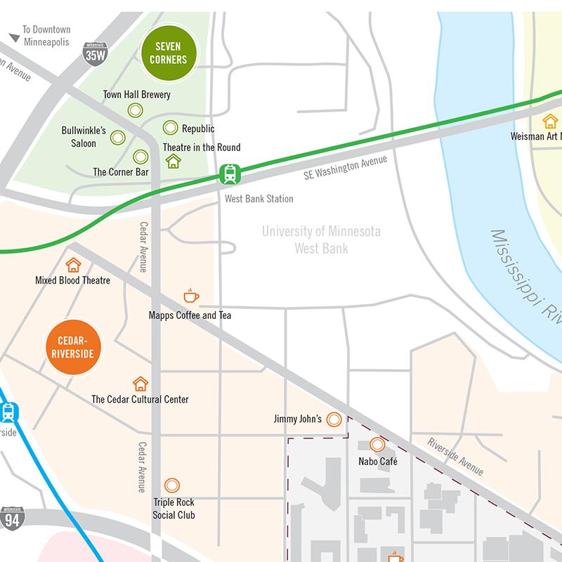 Auggie Neighborhood Map