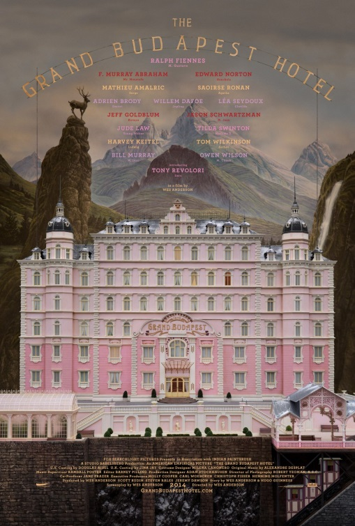 The Grand Budapest Hotel Wes Anderson // USA + Germany + UK // 2014