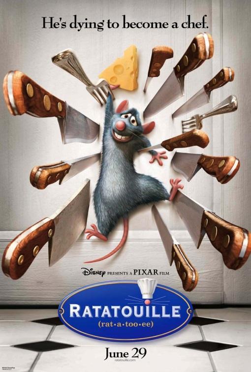 Ratatouille Brad Bird // USA // 2007