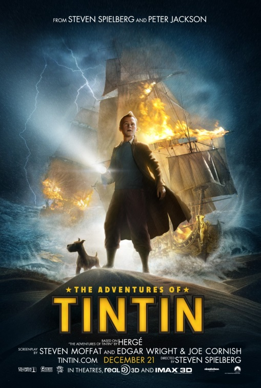 The Adventures of Tintin Steven Spielberg // USA + New Zealand // 2011