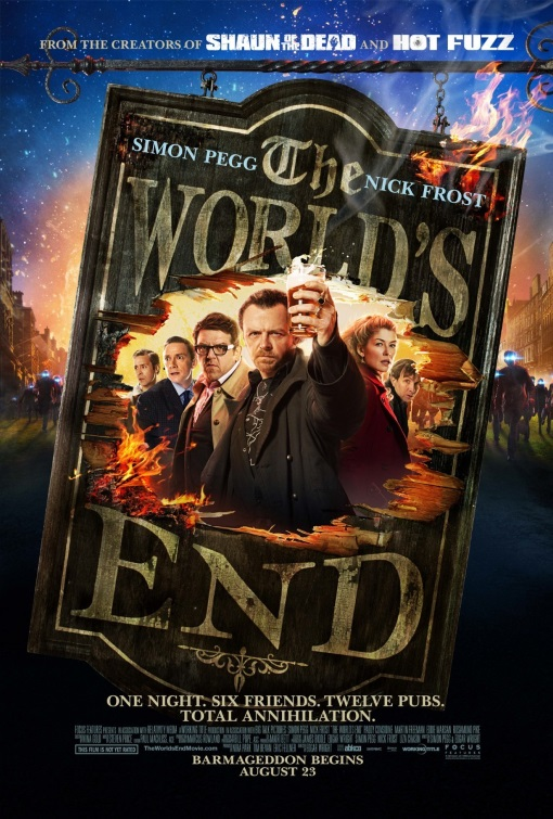 The World's End Edgar Wright // UK + USA // 2013