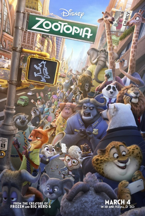Zootopia Byron Howard and Rich Moore // USA // 2016