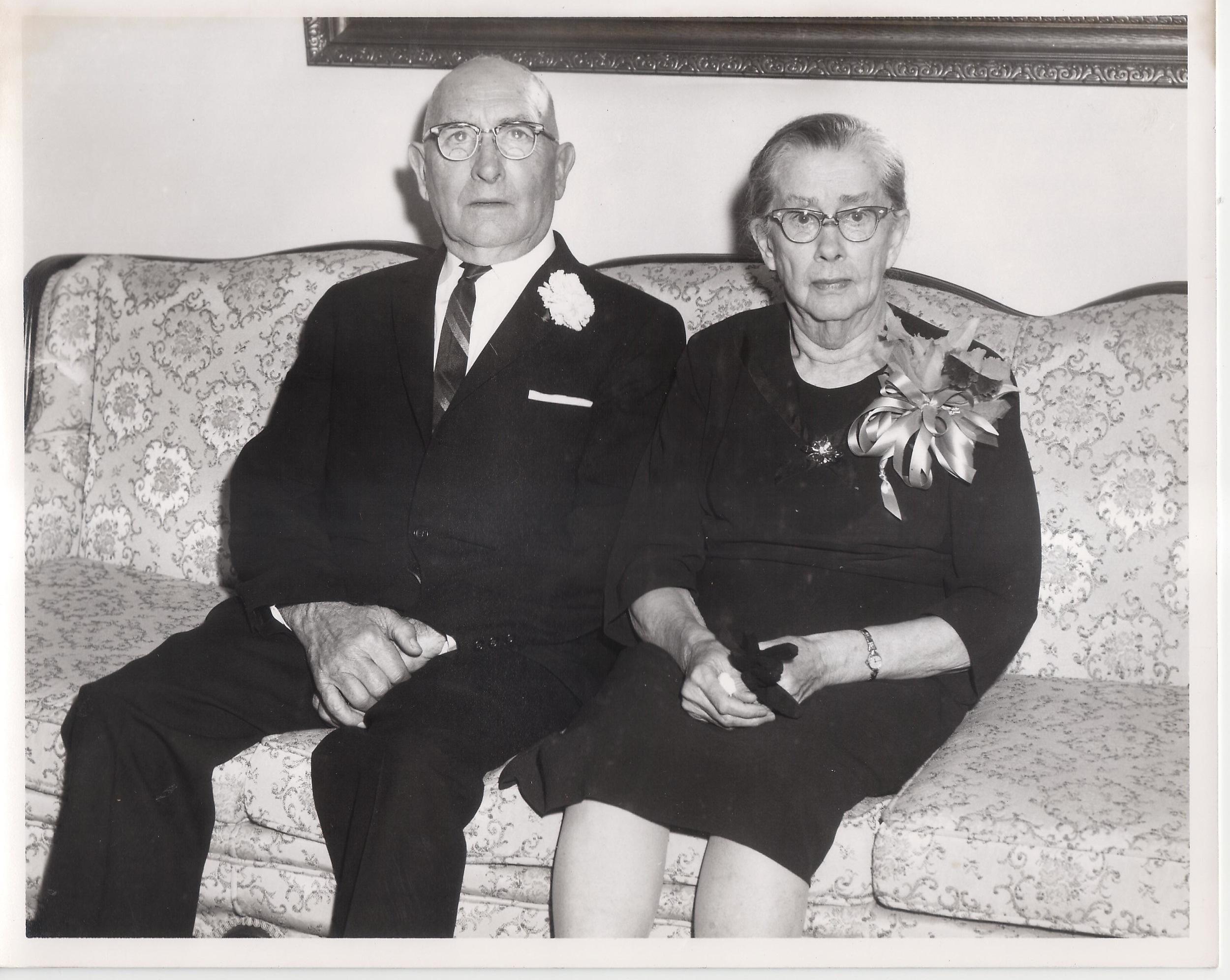 Sam + Dorothy Everett's 50th Wedding Anniversary
