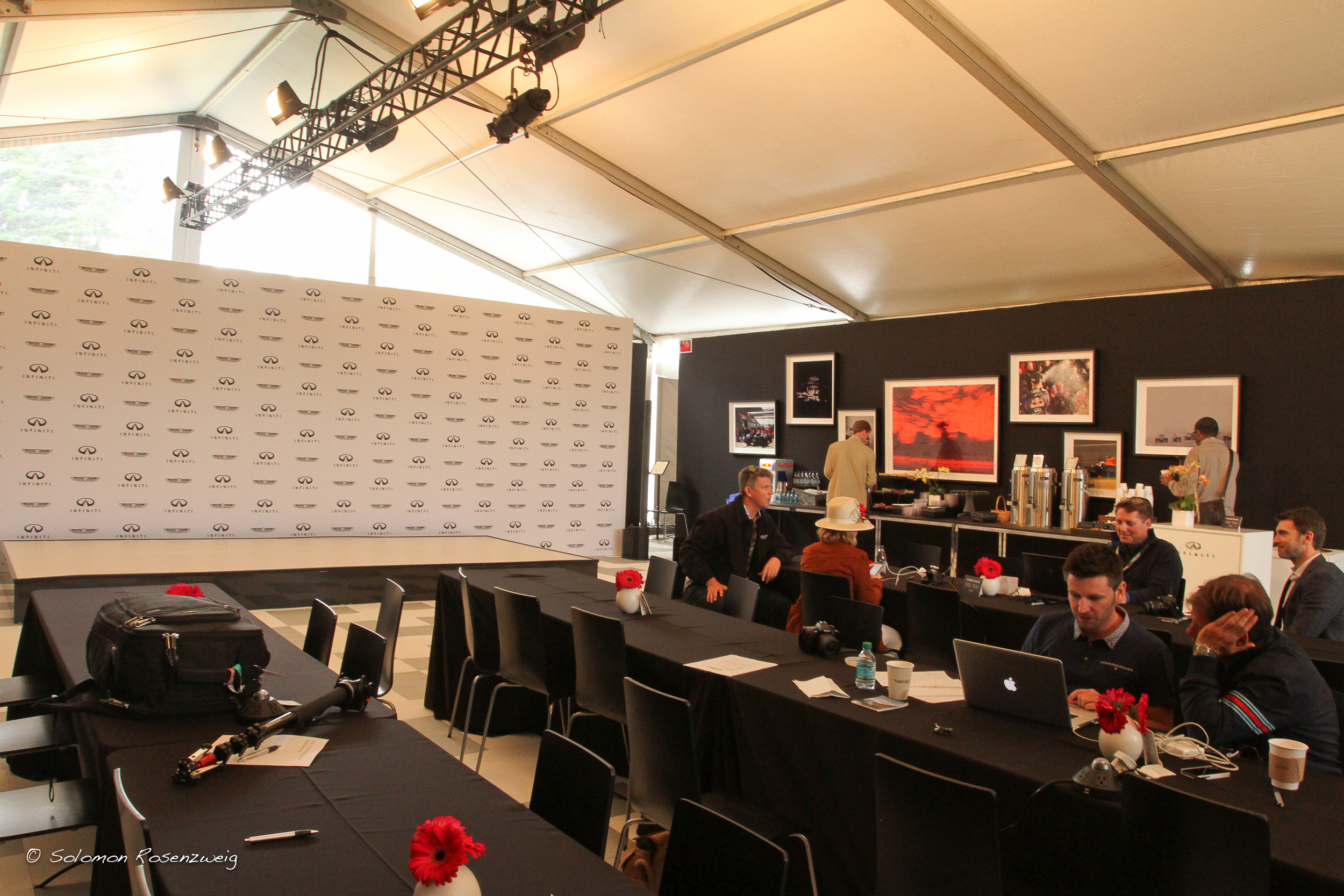 The press working room.