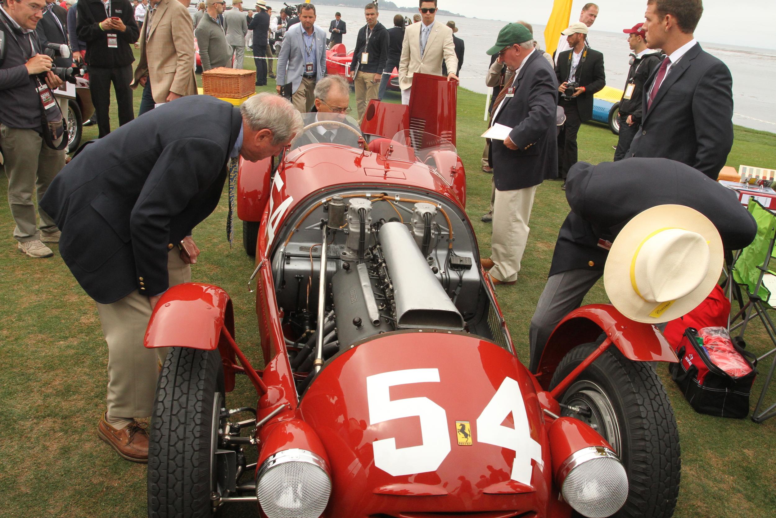 1948 Ferrari 166 Corsa Spyder
