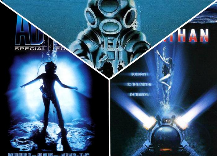 10. The Abyss, Leviathan, DeepStar Six (1989)