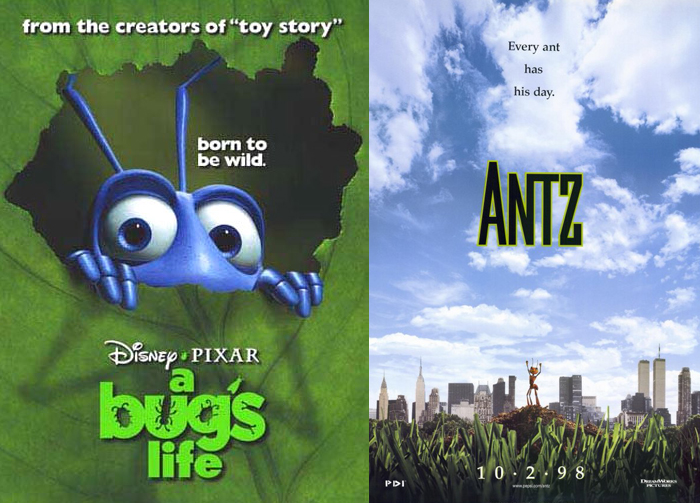 A Bug's Life, Antz (1998)