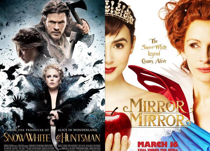 Snow White and the Huntsman, Mirror Mirror (2012)