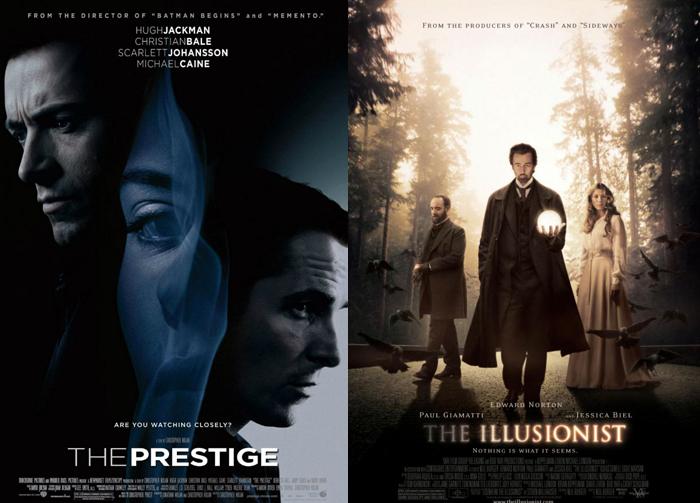The Prestige, The Illusionist (2006)