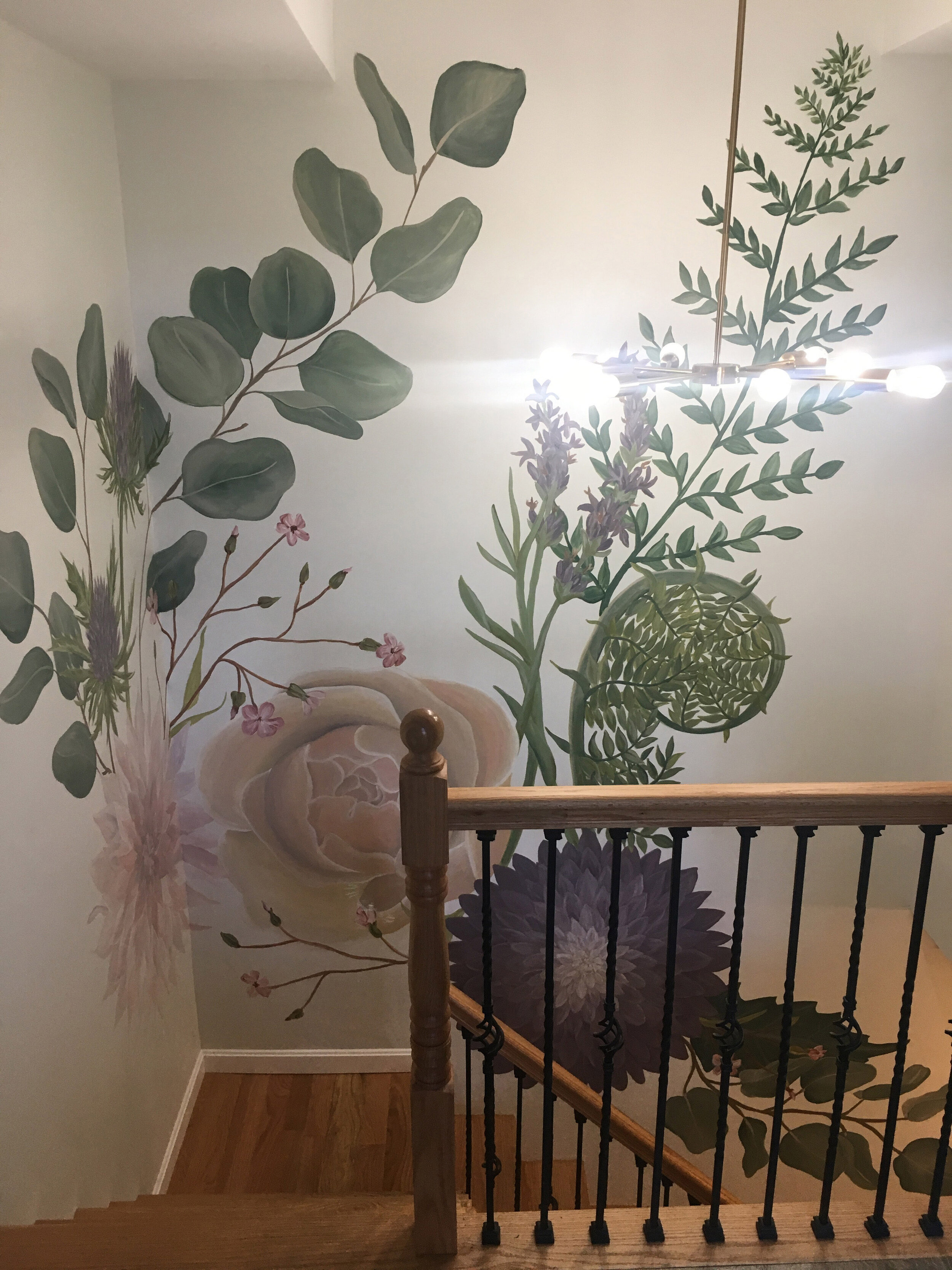 9.Botanical Staircase Mural.jpg