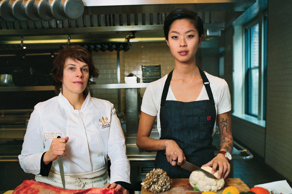 "THE NEW YORK TIMES MAGAZINE  ""A Woman's Place Is Running The Kitchen""  (March 2014)   Read More."