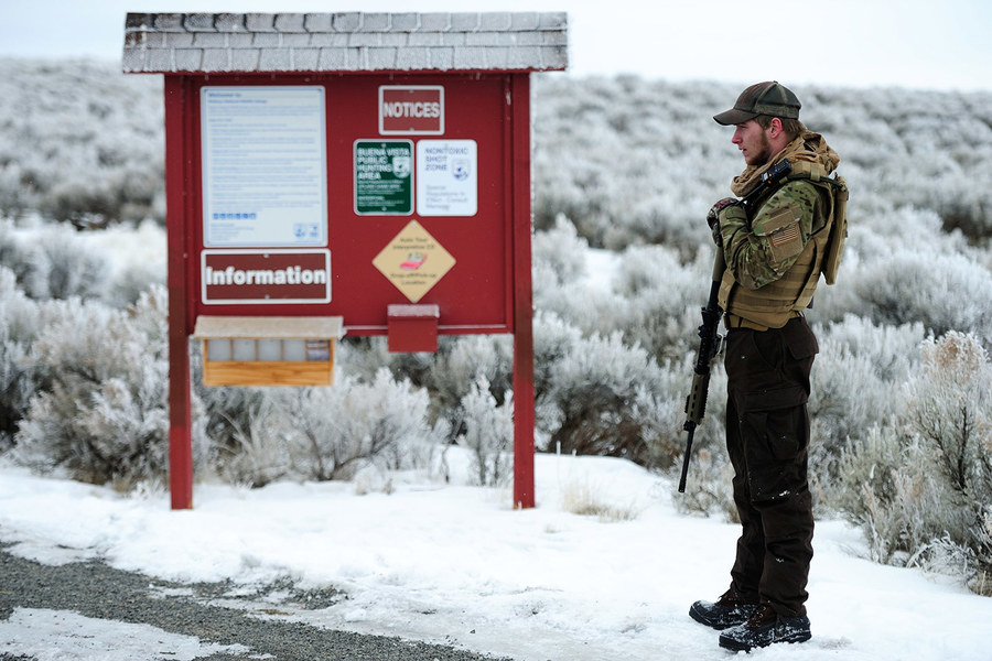 "VANITY FAIR   ""That Night I Spent With Ammon Bundy's Militia"" (January 2016)  Read More."