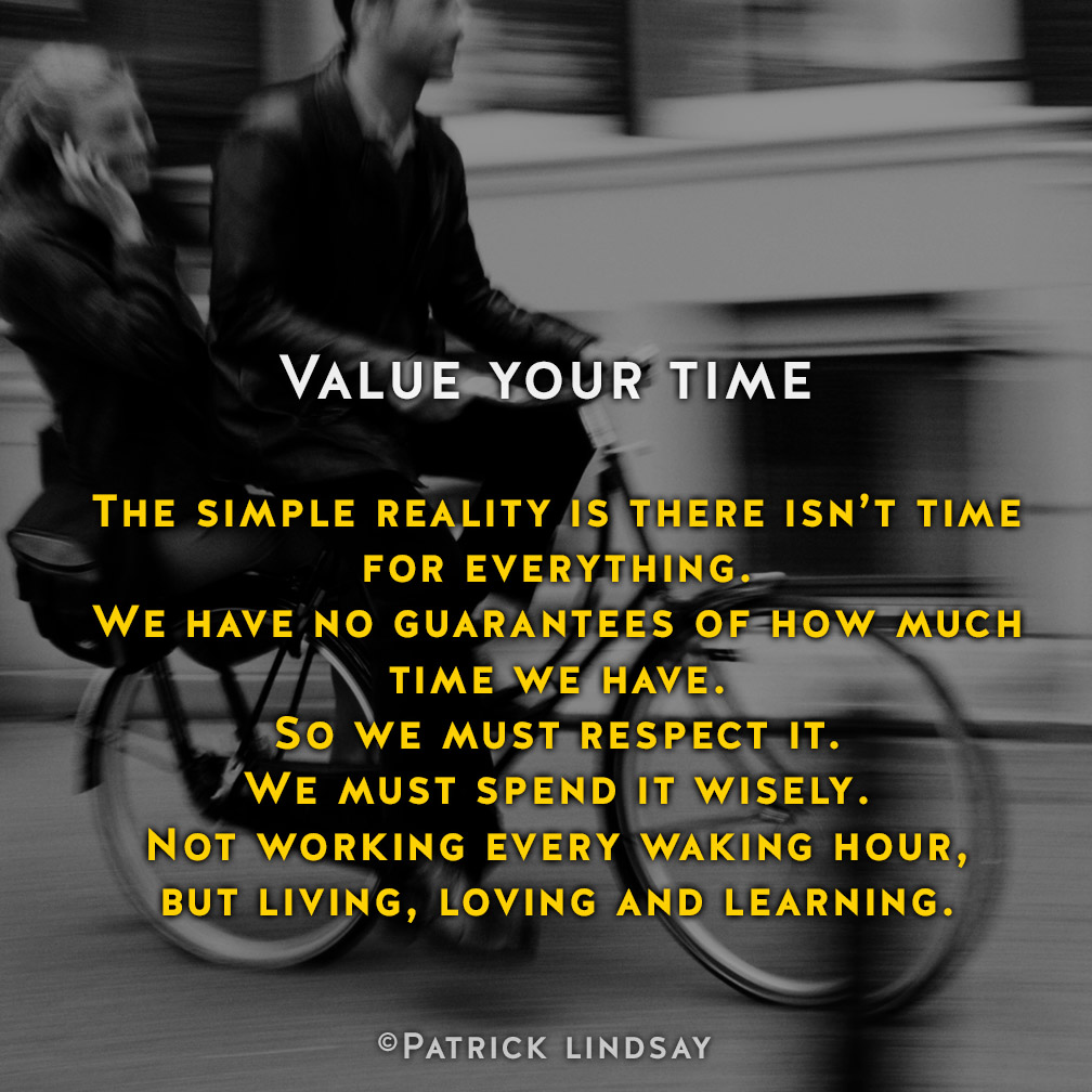 VALUE YOUR TIME.jpg