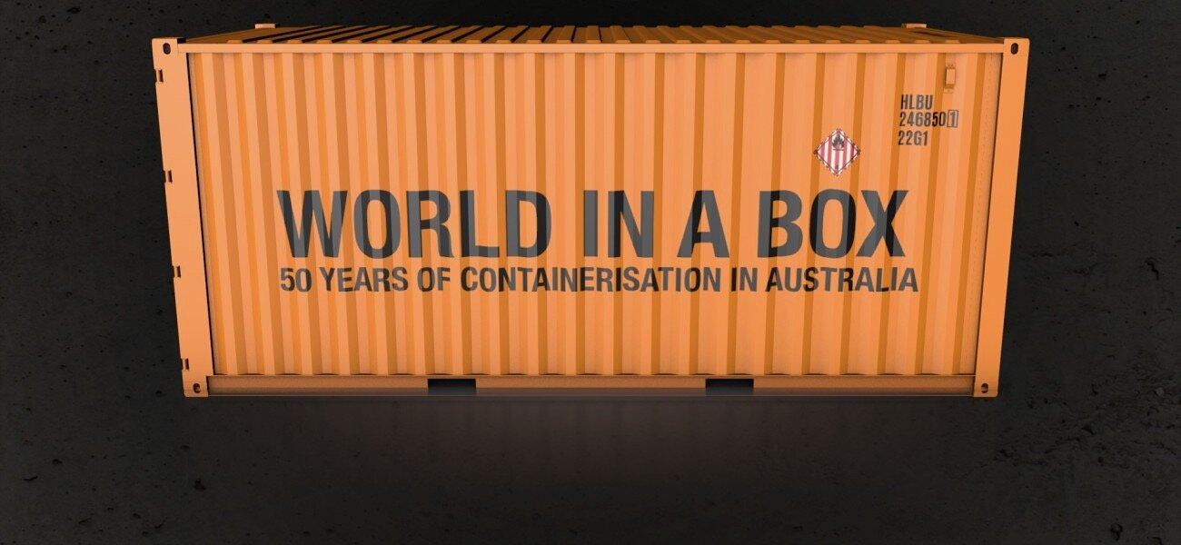 in 2019 Limetree Studios produced  The World in a Box  documentary for the 2019 Container Project Group to commemorate the 50th anniversary of the start of containerisation in Australia in 1969. The film was supported and part- funded by the Australian Department of Foreign Affairs and Trade.  View the film  here