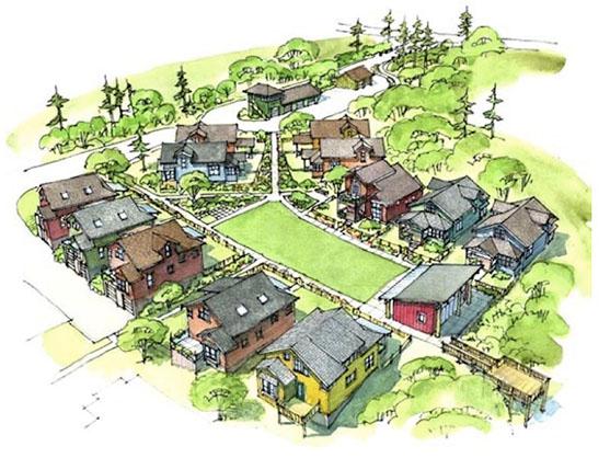 Ross Chapin Pocket Neighborhood