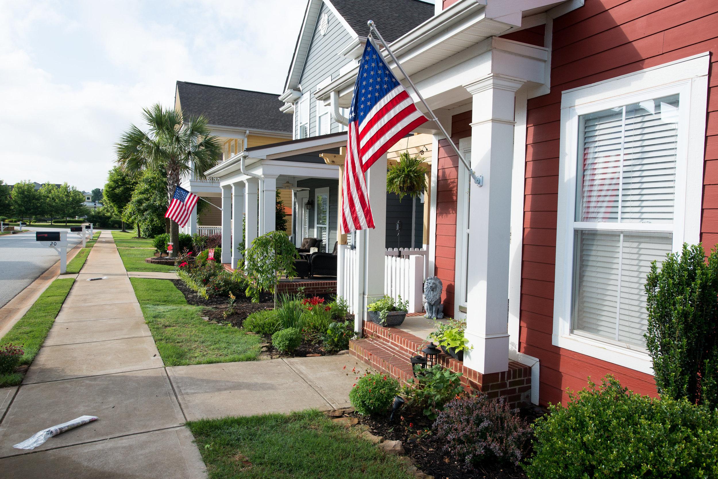 Traditional Neighborhood Design Streetscape