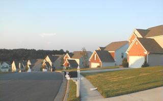 Conventional Neighborhood Design Streetscape