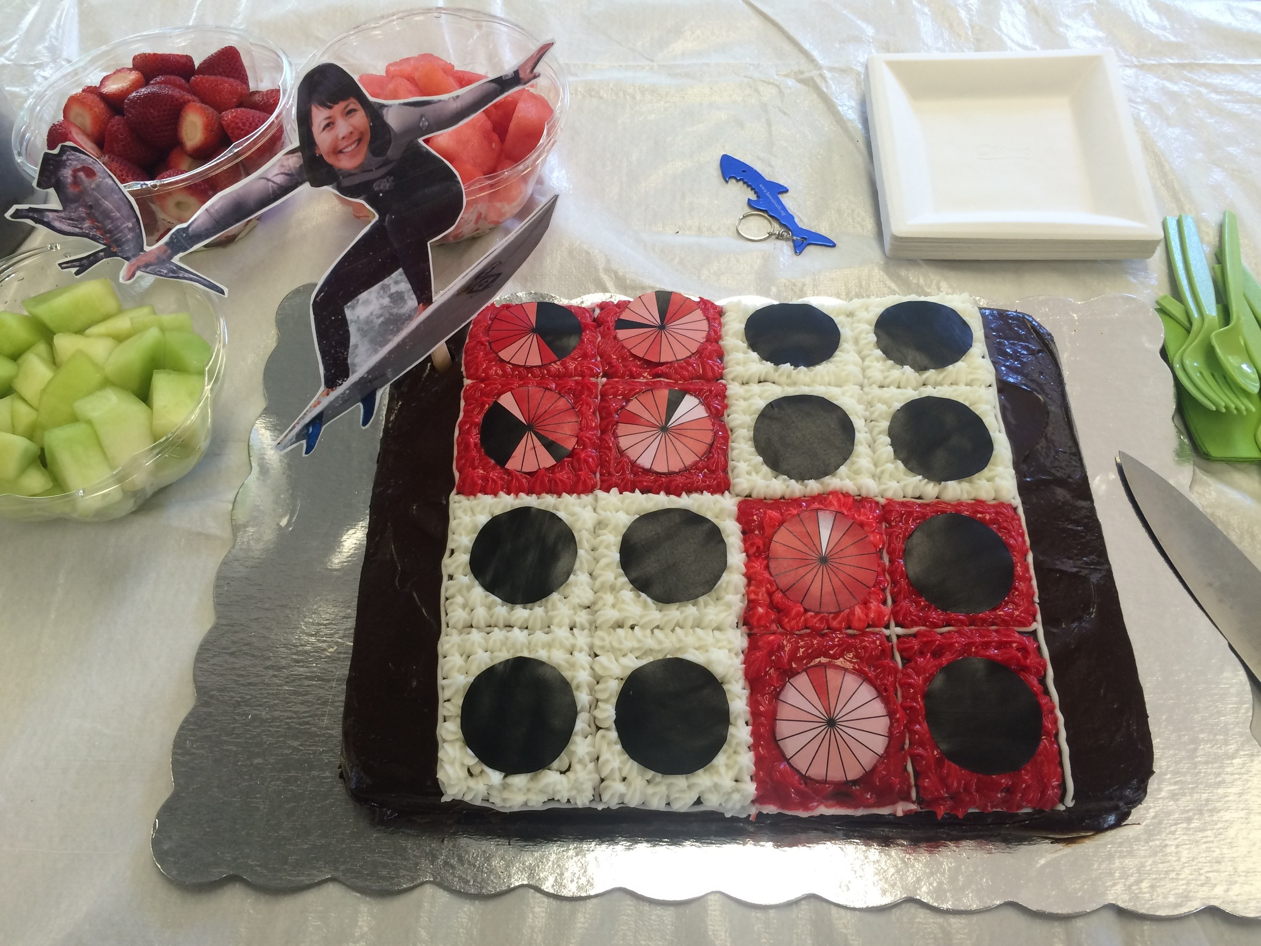 Thesis cake! - Photo by J. Wong-Ala
