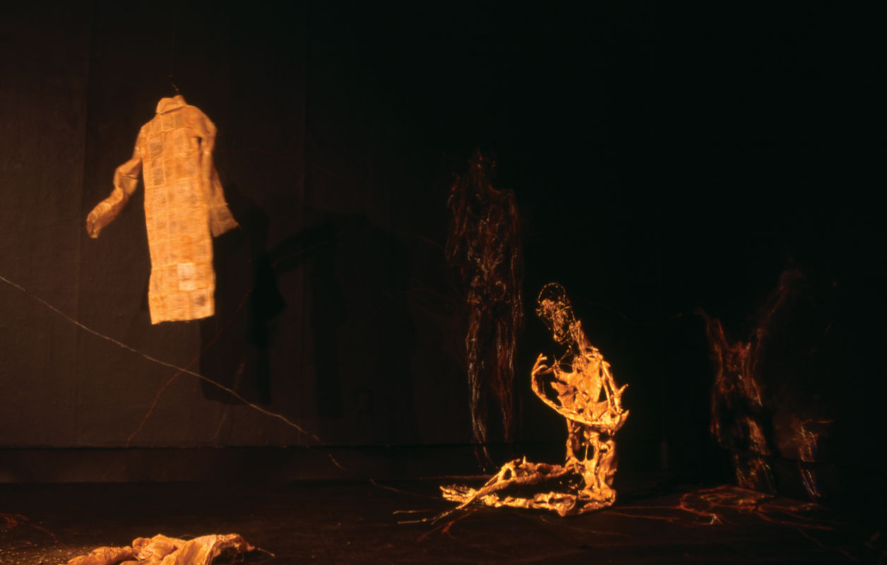 Reassembled Memories (view #3), 2006, mixed-medium installation