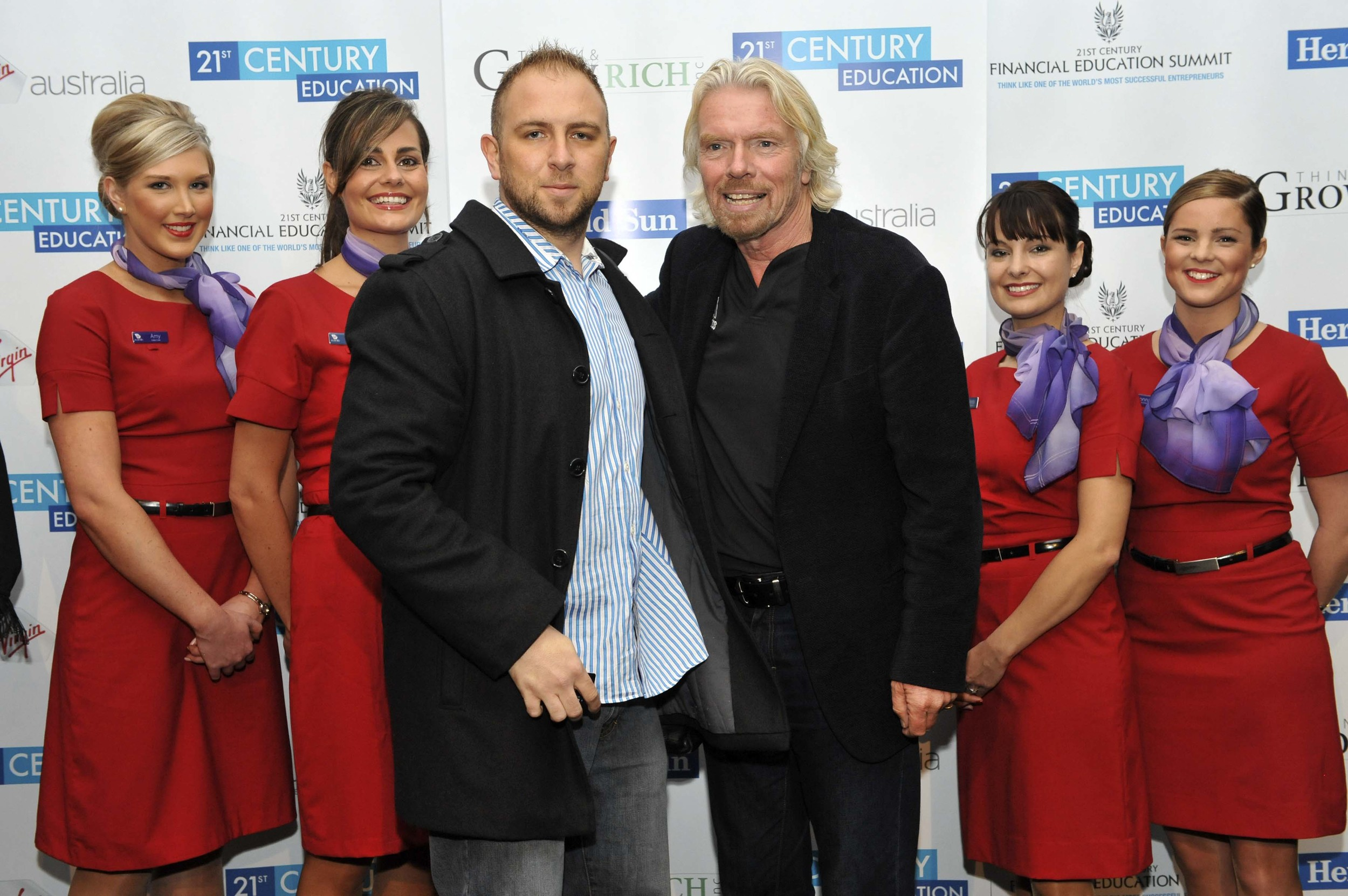 Sir Richard Branson // Founder of Virgin