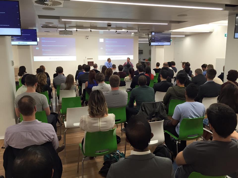 Startup Grind hosts Charlie Wood (Dropbox)