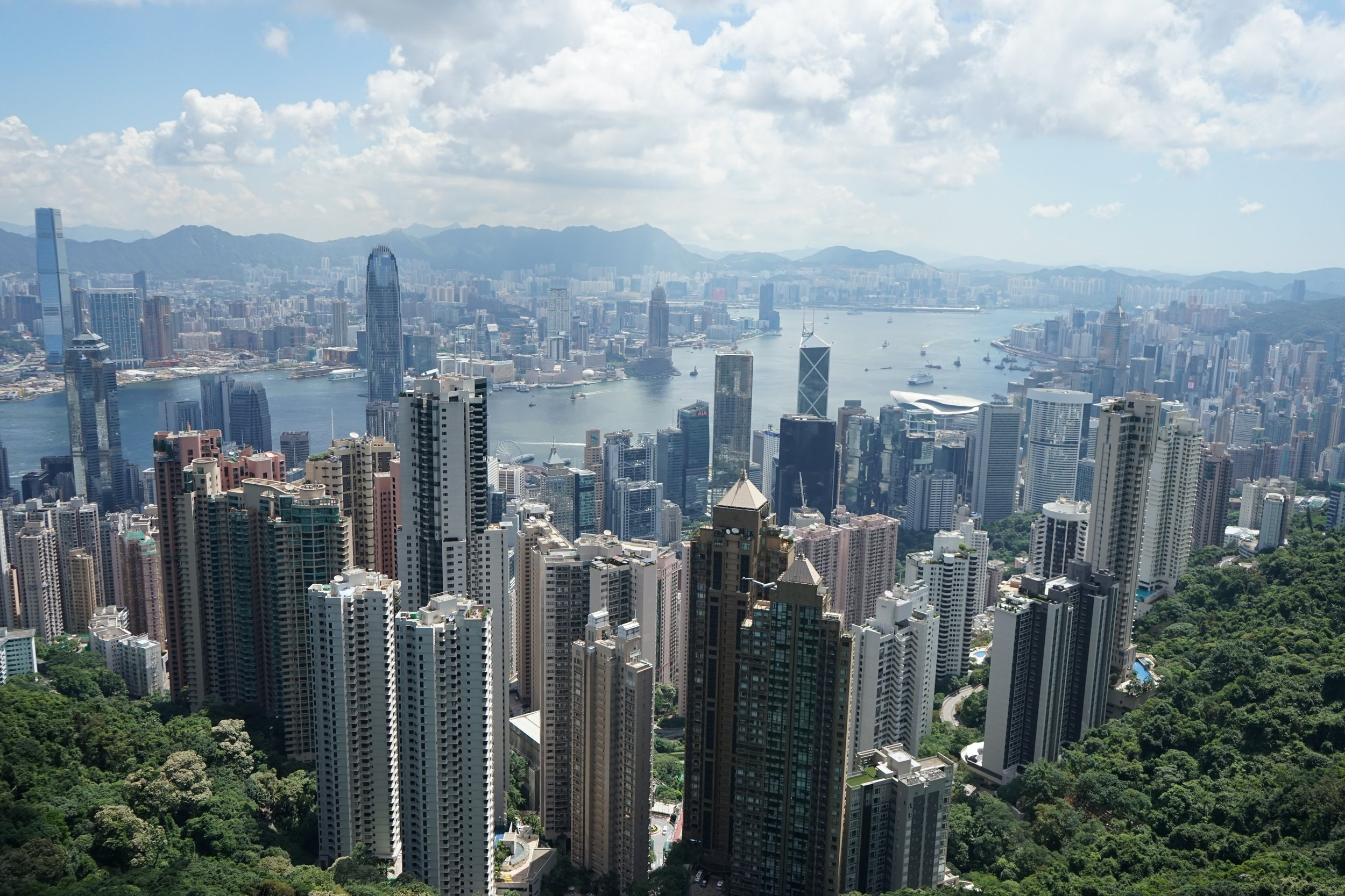 Hong Kong is often used by Western companies as a launchpad into China