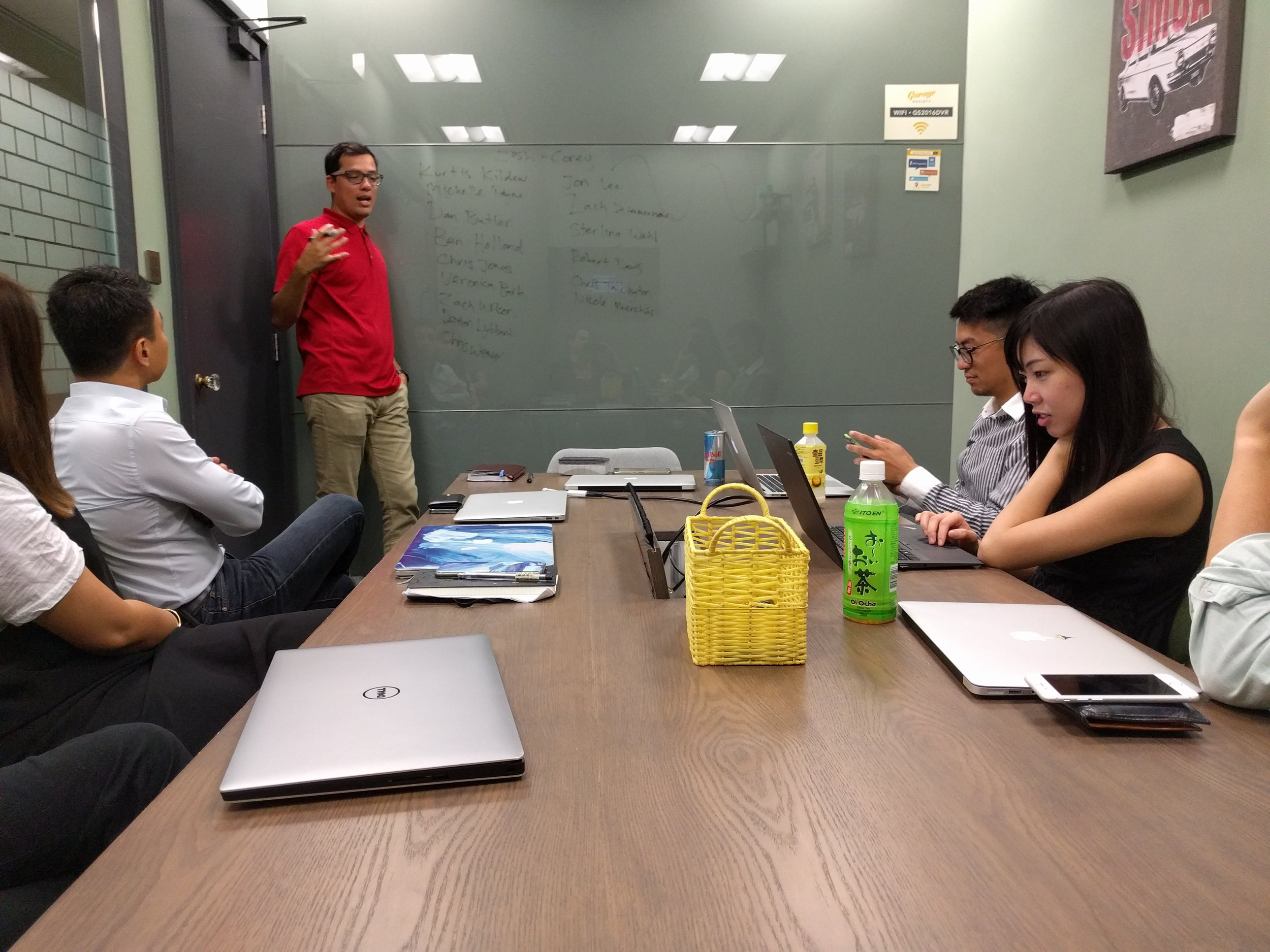 Staff at Josh Steimle's MWI Marketing agency at work in China  (Image: supplied)