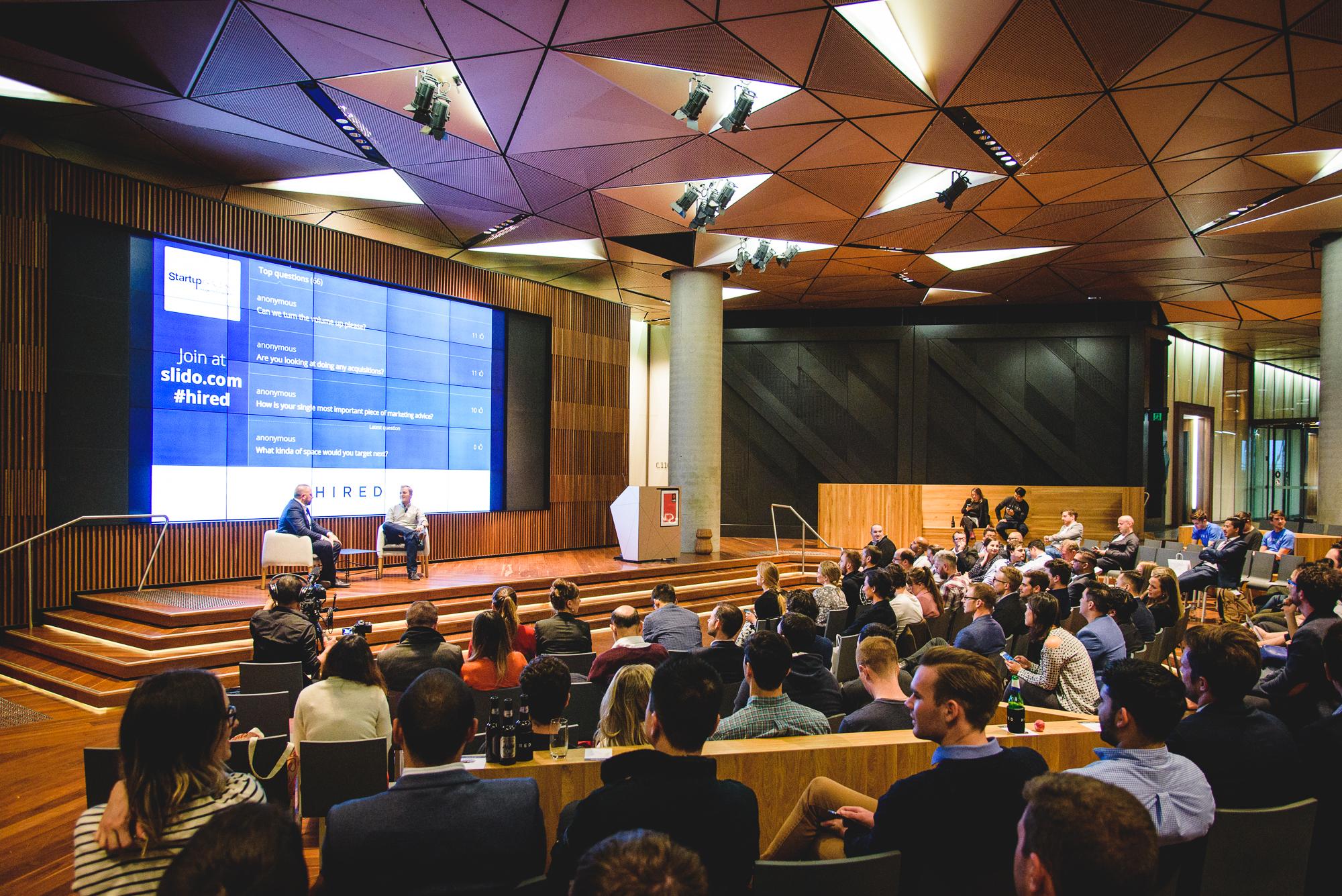 Startup Grind event at NAB Atrium  (Image: Startup Melbourne)