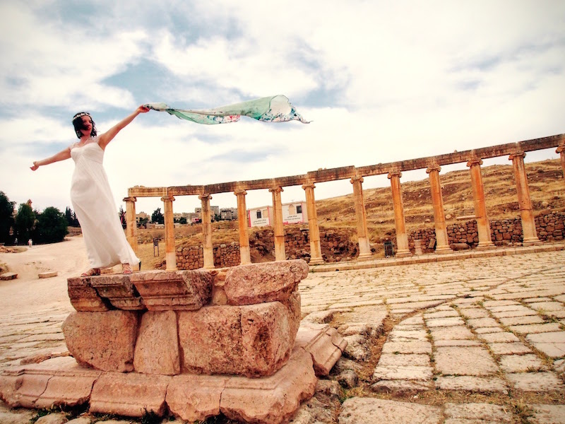 Founder of Youli Travel Jennifer Fein took inspiration out of her own destination wedding in Jordan  (Image: supplied)
