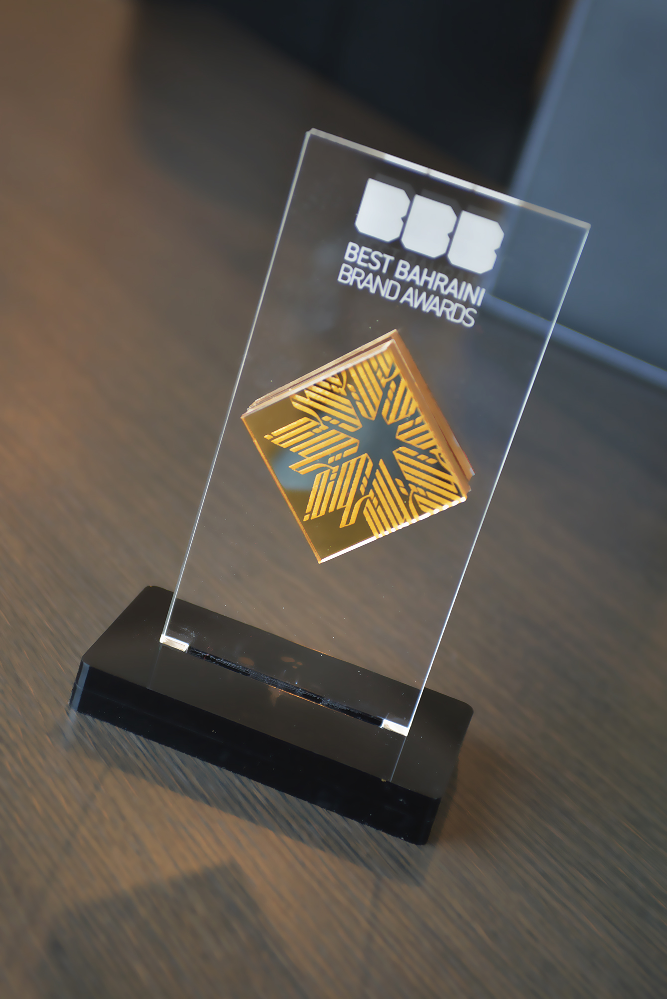 Miracle Receives the Best Bahraini Brand Award for the ArtBahrain logo & Identity.