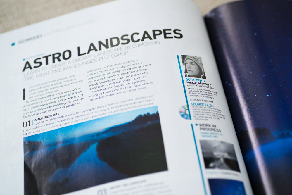 Advanced Photoshop Magazine Tutorial - Night River