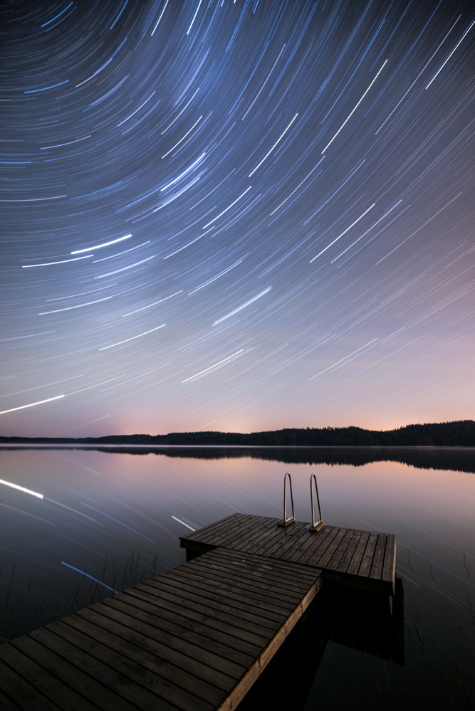 Mikko Lagerstedt - Star Trail Reflection