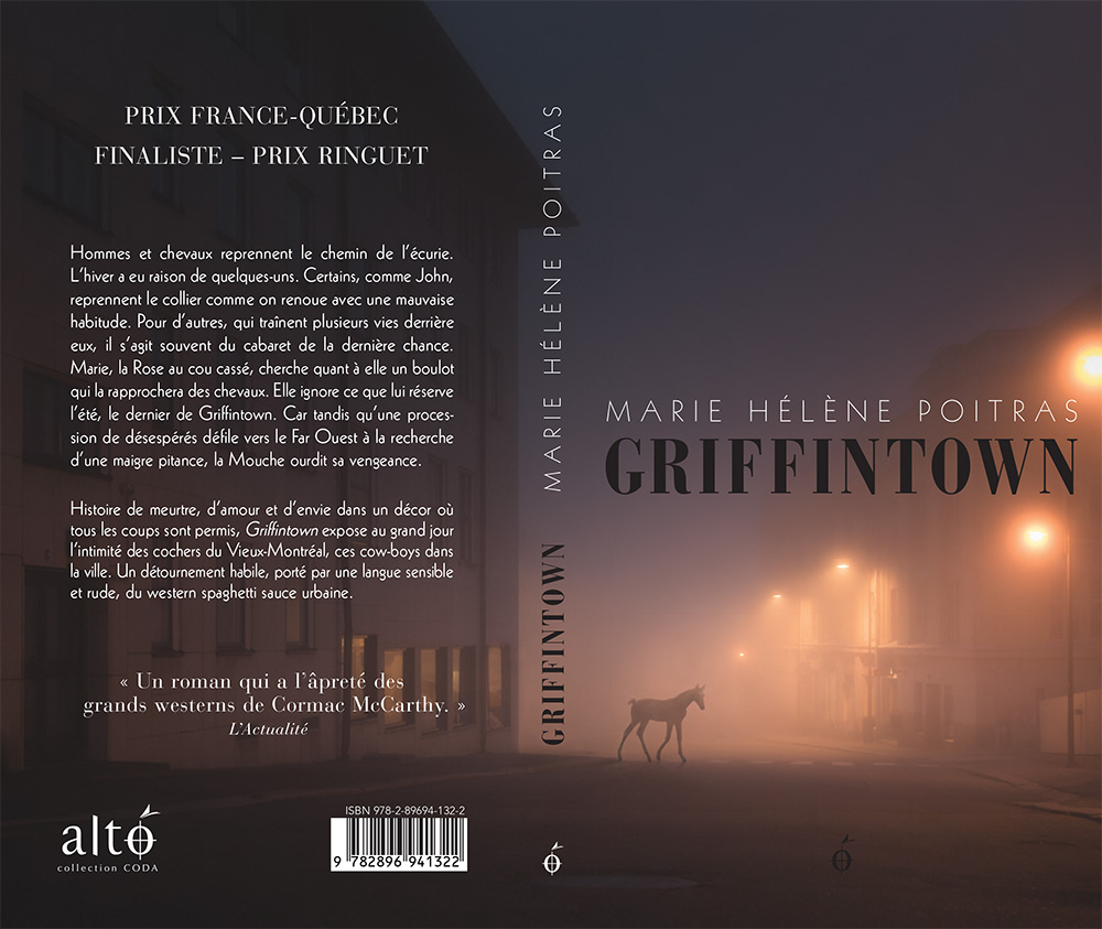 Mikko Lagerstedt - Foal - Book Cover for Griffin Town