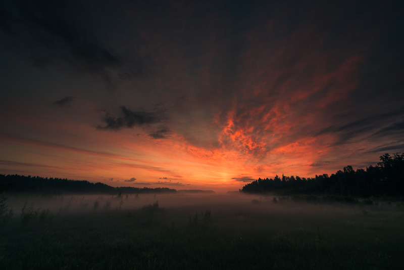 Mikko Lagerstedt - Dawn - 2013 - Tuusulanjärvi, Finland - Created Using  Fog Preset for Lightroom