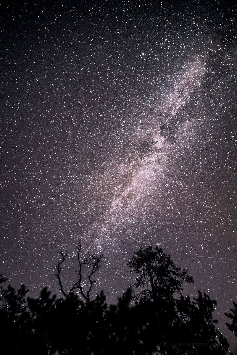 After - Milky Way Preset - Enhance