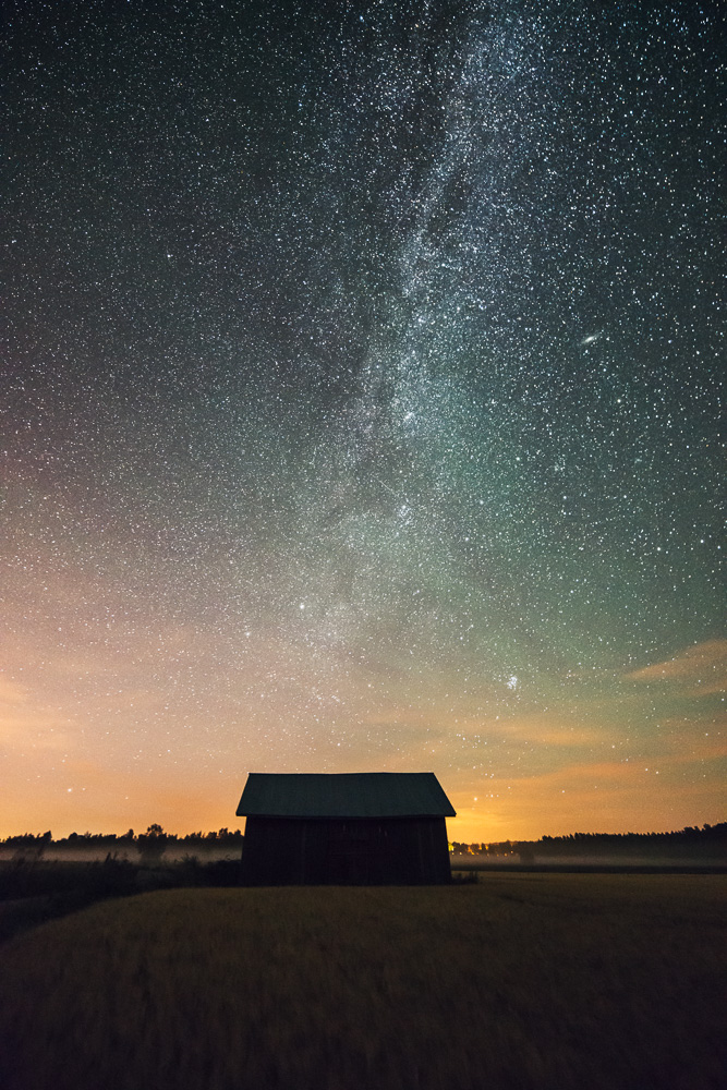 Mikko Lagerstedt - Night at the Countryside in Finland 2014
