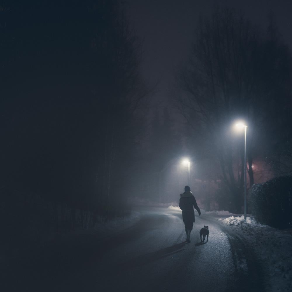 Mikko Lagerstedt - Night Walk - 2014, Kerava, Finland