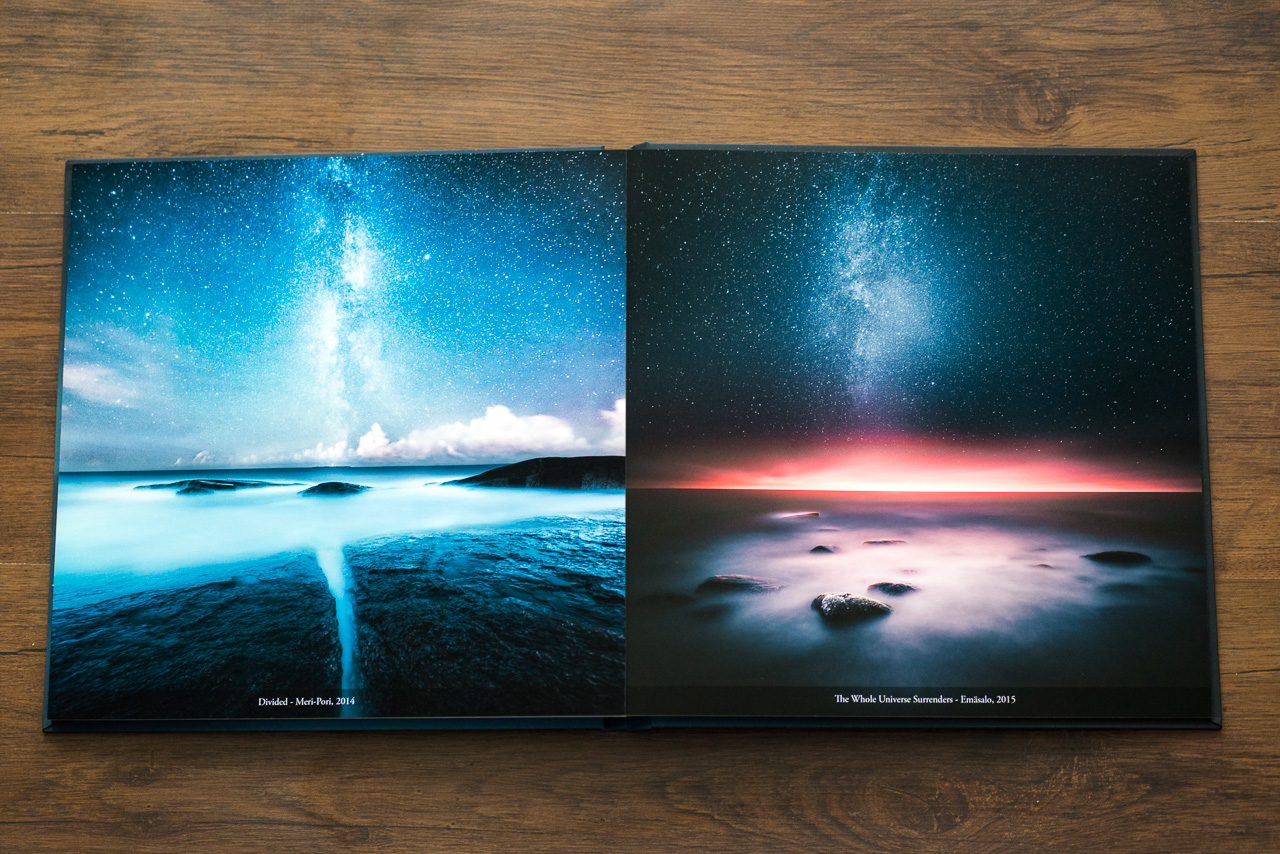 The spreads look fantastic and the overall quality of the prints is excellent