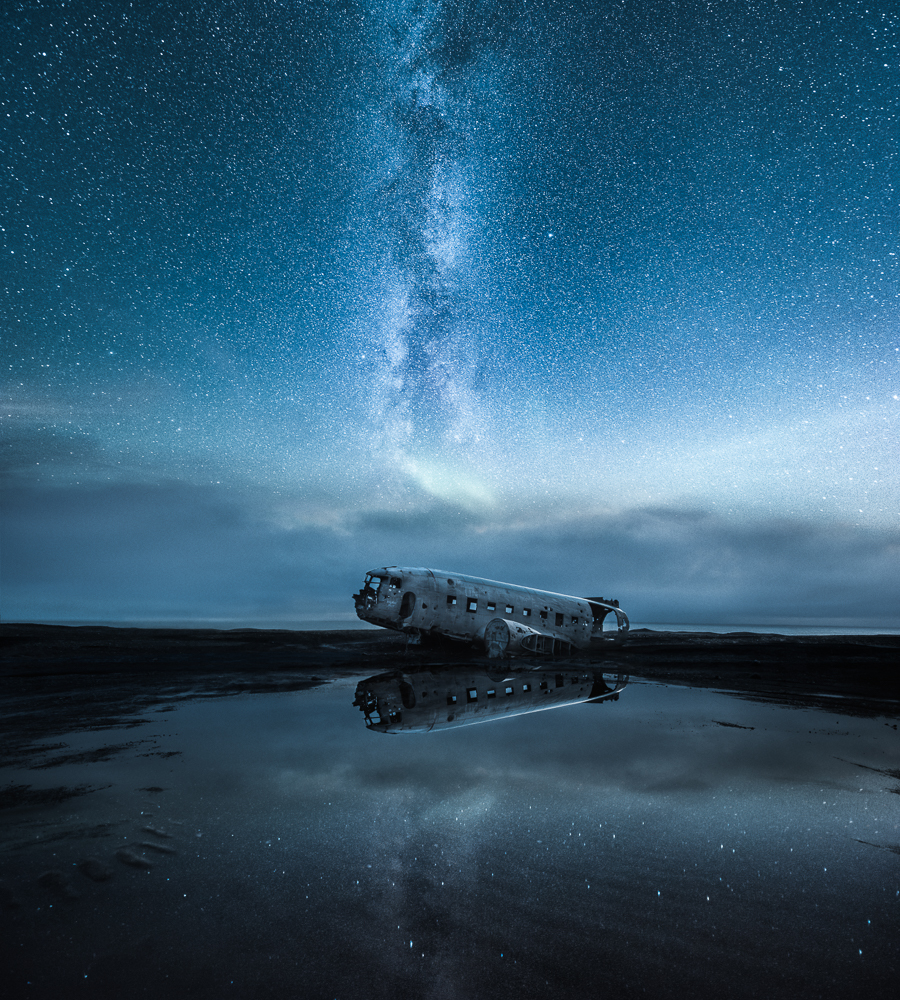 The Abandoned World – Sólheimasandur, Iceland – 2016