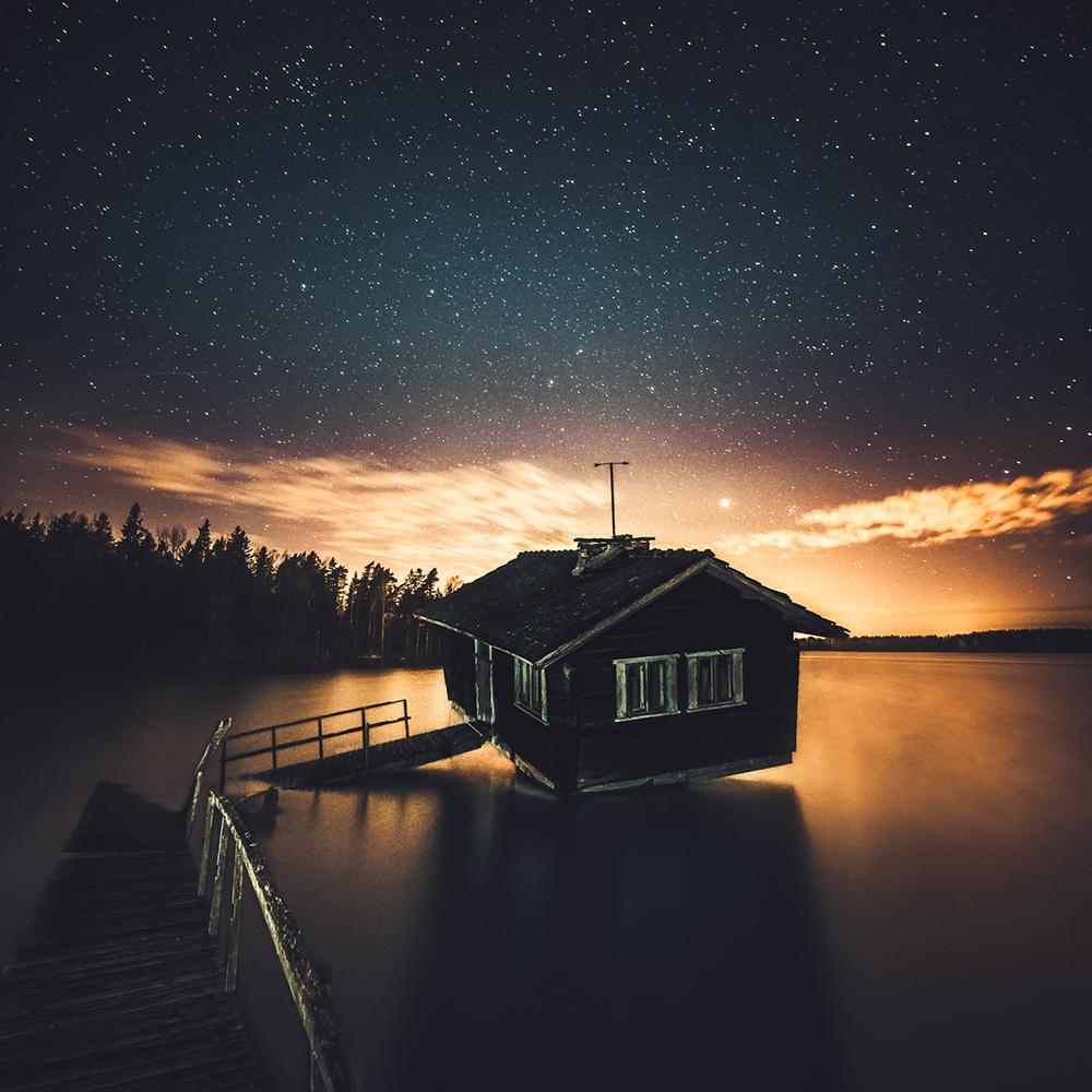 Night Sauna - Kirkkonummi, Finland