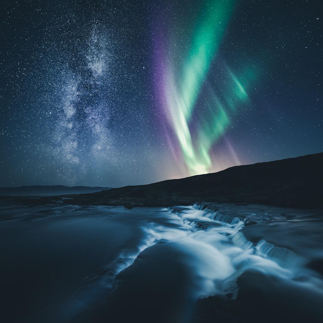 Aurora & Milky Way