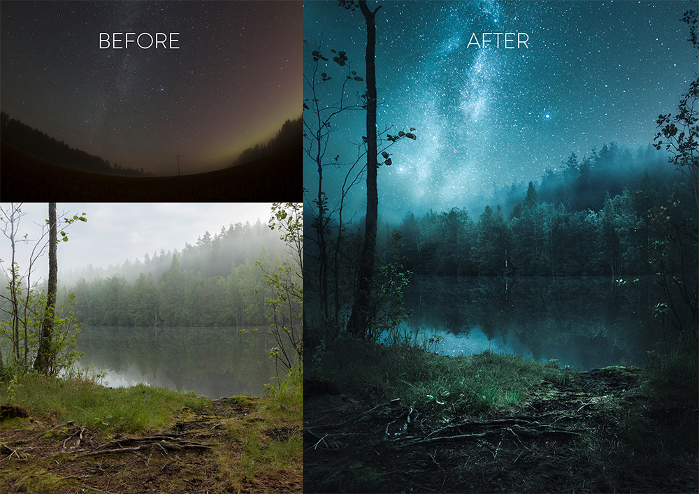 New Star Photography Composite Tutorial