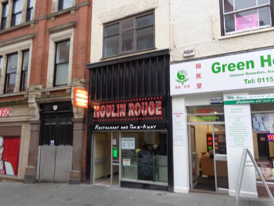 PHOTO FROM TRIPADVISOR 'MOULIN ROUGE NOTTINGHAM'