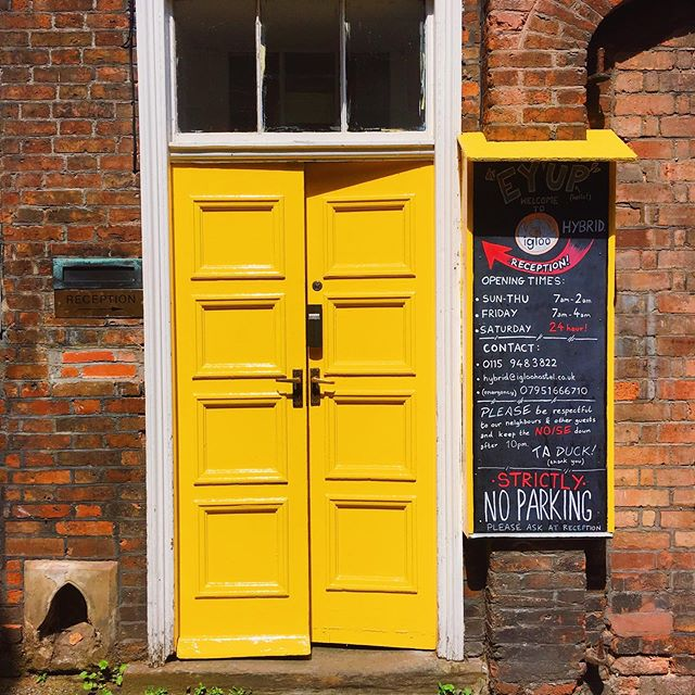 We love our new bright yellow door at Igloo Hybrid! 🌼✨☀️🌻💛 . . . #hostel #hostellife #igloo #igloohostel #backpackers #lovenotts #blog #backpacking #travel #explore #visitnottingham #airbnb #hotel #travelblog #hostelliving #hostelworld #photooftheday #england #love #england #uk #selfcatering #holiday#hostel #hostellife #igloo #igloohostel #backpackers #lovenotts #blog #backpacking #travel #explore #visitnottingham #airbnb #hotel #travelblog #hostelliving #hostelworld #photooftheday #england #love #england #uk #selfcatering #holiday