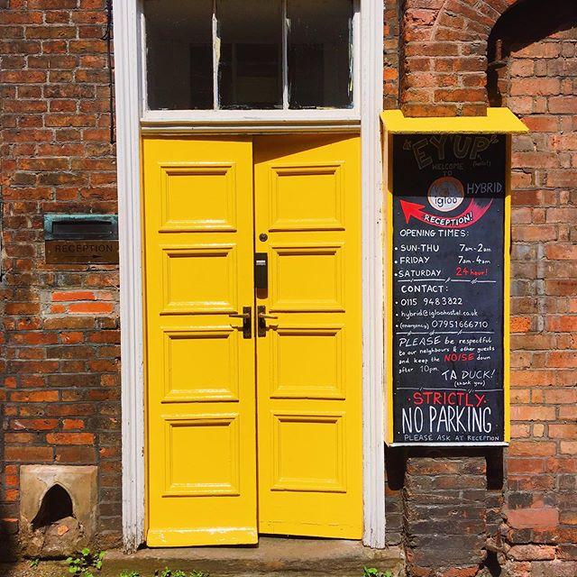 We love our new bright yellow door at Igloo Hybrid! 🌼✨☀️🌻💛 . . . #hostel #hostellife #igloo #igloohostel #backpackers #lovenotts #blog #backpacking #travel #explore #visitnottingham #airbnb #hotel #travelblog #hostelliving #hostelworld #photooftheday #england #love #england #uk #selfcatering #holiday#hostel #hostellife #igloo #igloohostel #backpackers #lovenotts #blog #backpacking #travel #explore #visitnottingham #airbnb #hotel #travelblog #hostelliving #hostelworld #photooftheday #england #love #england #uk #selfcatering #holiday