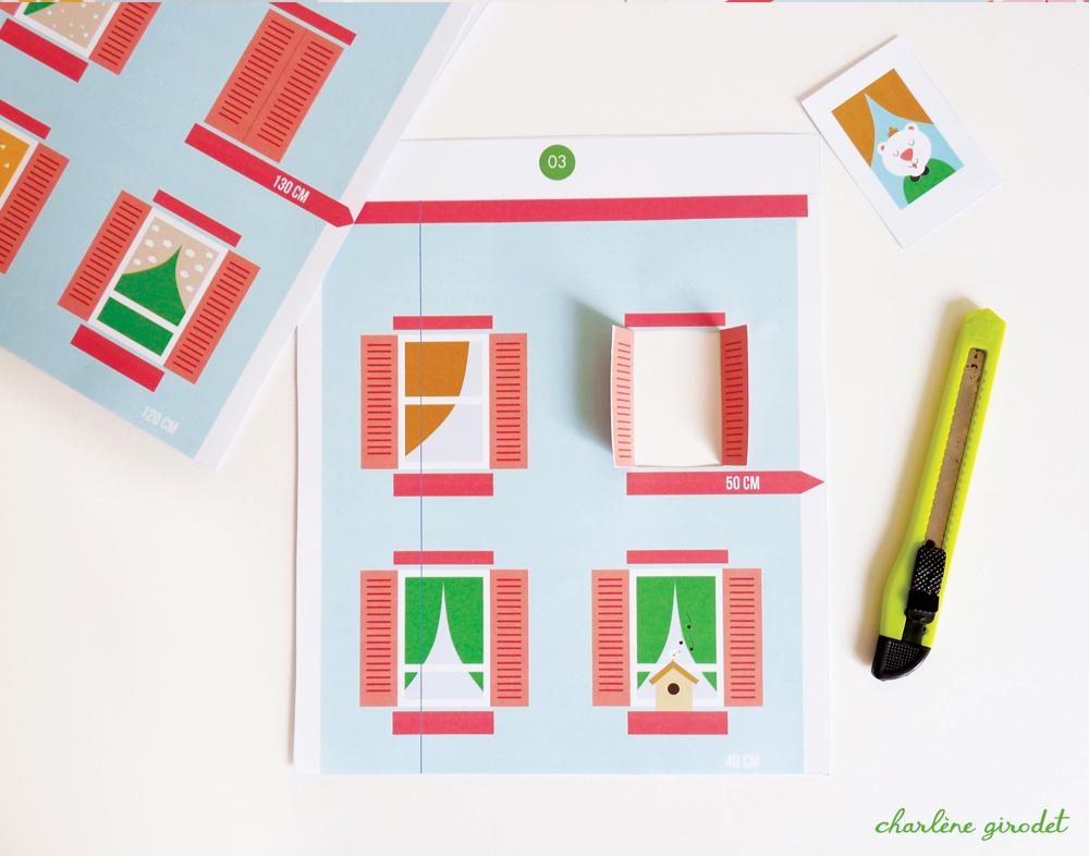 DIY - Toise Immeuble pour enfants - Charlène Girodet