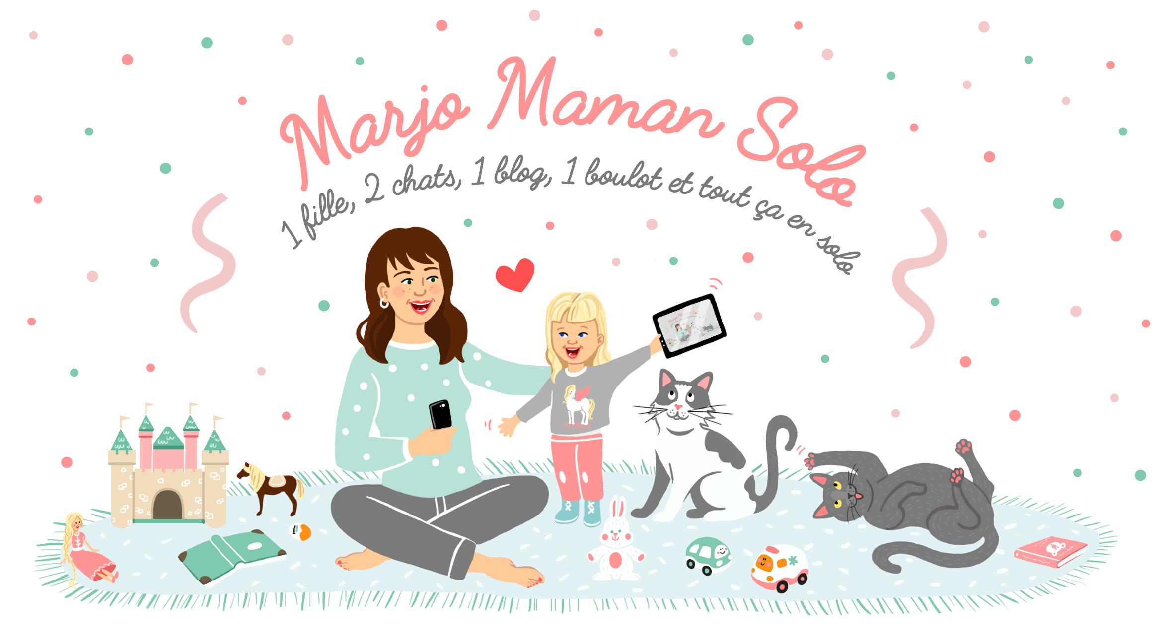 Bannière Blog - Marjo Maman Solo - Charlène Girodet
