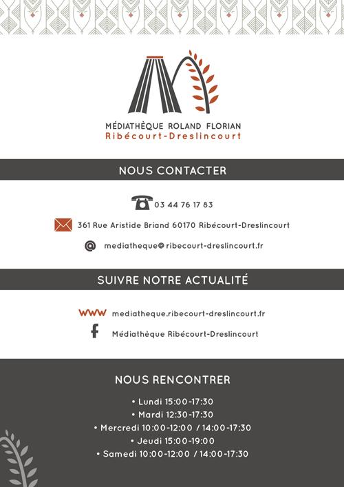 Médiathèque Guide Du Lecteur - Charlène Girodet