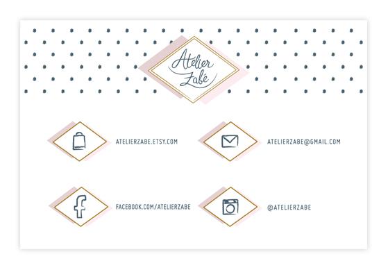 Atelier Zabé - Carte de Visite - Charlene Girodet