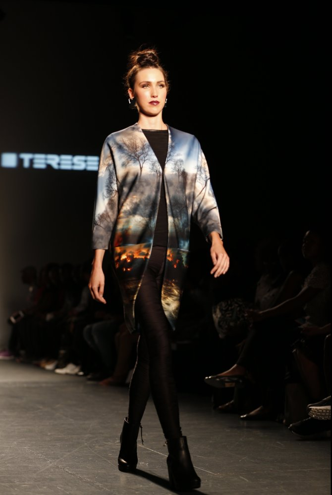 Model wearing  Terese Sydonna . Photo by Marcus Rosendoll.